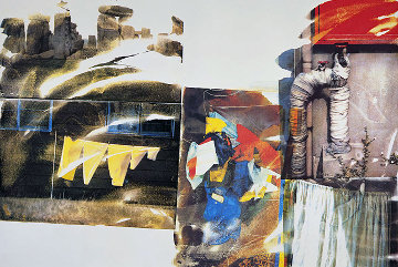 Source From Speculations 1996 Limited Edition Print - Robert Rauschenberg