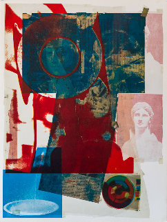 Quarry 1968 Limited Edition Print - Robert Rauschenberg