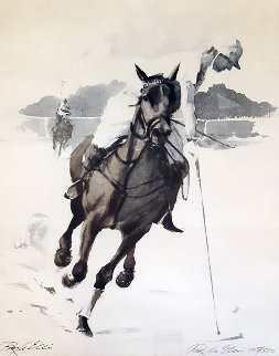 Polo Limited Edition Print - Ray Ellis