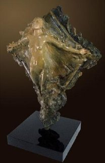 Prismsoul Bronze Sculpture 25 in Sculpture - Ira Reines