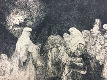 Presentation in the Temple  Limited Edition Print -  Rembrandt