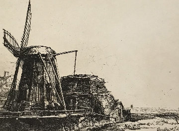 The Windmill Limited Edition Print -  Rembrandt Millennium Edition