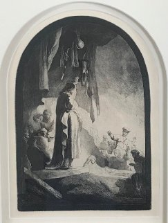 Raising of Lazarus Limited Edition Print -  Rembrandt Millennium Edition