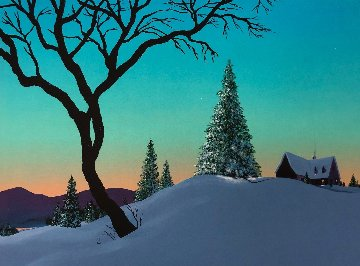 Magic De l\'hiver Limited Edition Print - Rene Lalonde