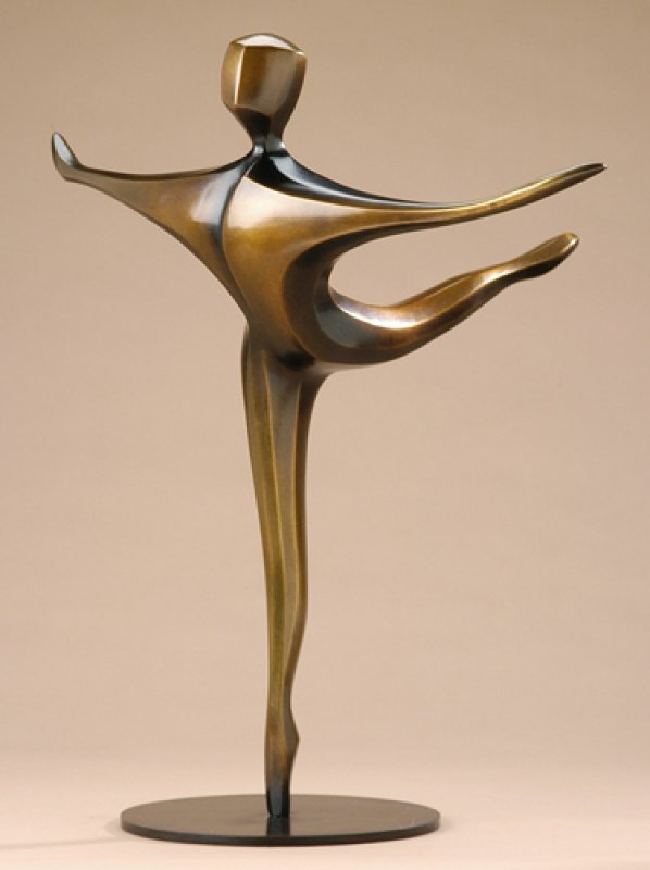 Tournant Bronze Sculpture 2008 20 in