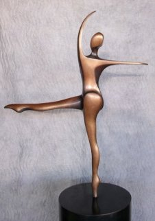 She Dances Bronze Sculpture 1994 42 in Sculpture - Robert Holmes