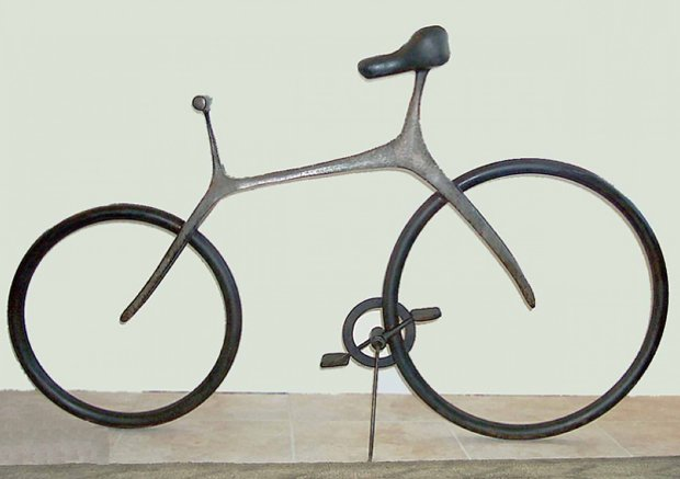 Bicycle (Large) Bronze Sculpture 2007 68 in