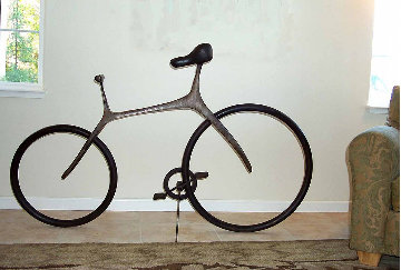 Bicycle (Large) Bronze Sculpture 68 in Sculpture - Robert Holmes