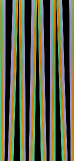 Elongated Triangle 6 1971 Limited Edition Print - Bridget Riley