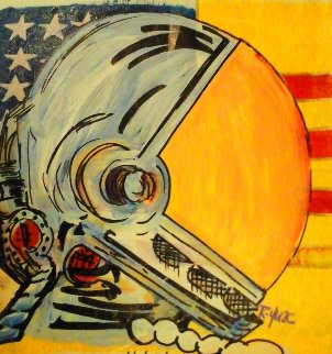 Space Man - Liberty Edition 2005 13x13 Original Painting -  Ringo