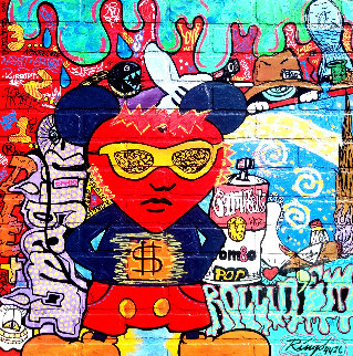 Andy\'s Heart State III 2014 34x34 Original Painting -  Ringo