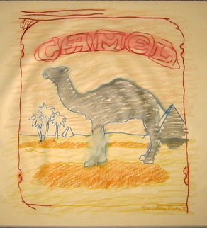 Blue Line Camel 1978 Limited Edition Print - Larry Rivers