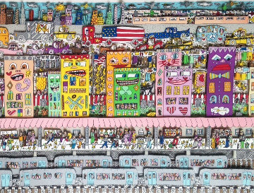 Going Places   1994 3-D Limited Edition Print - James Rizzi