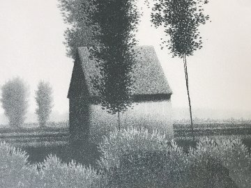 Untitled Landscape AP 1980 Limited Edition Print - Robert Kipniss