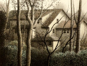Houses AP Limited Edition Print - Robert Kipniss