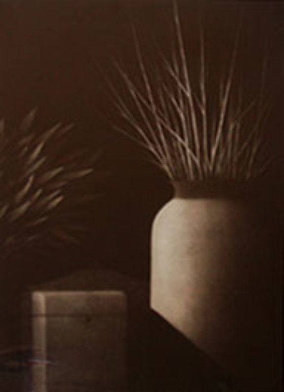Nocturne: Still Life with Two Vases