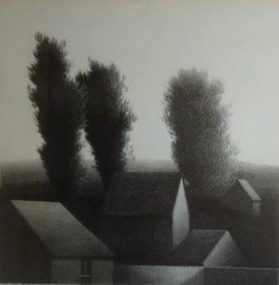 Rooftops I Limited Edition Print - Robert Kipniss