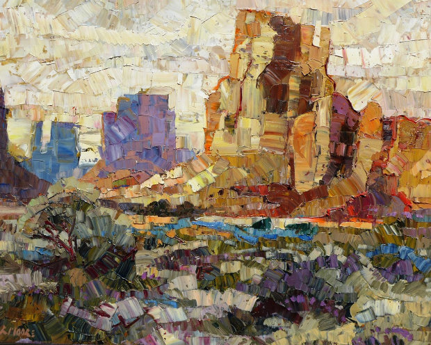 Landscape of Monument Valley  24x30
