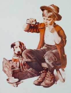 Bedside Manner 2005 Limited Edition Print by Norman Rockwell
