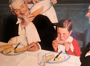 Last Ear of Corn Limited Edition Print - Norman Rockwell