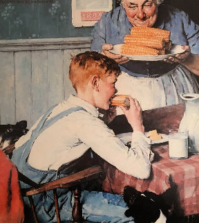 Country Boy Limited Edition Print - Norman Rockwell