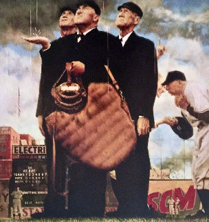 Tough Call Limited Edition Print - Norman Rockwell
