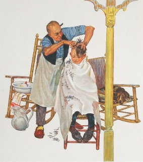 Summer's Start - Encore Edition 1977 Limited Edition Print - Norman Rockwell