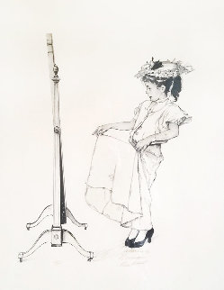 Dressing Up AP 1973 Limited Edition Print - Norman Rockwell