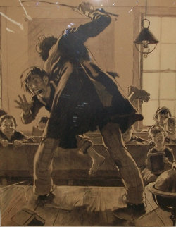 Spanking 1973 Limited Edition Print - Norman Rockwell