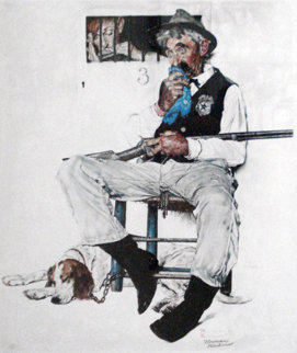 Music Hath Charms AP Limited Edition Print - Norman Rockwell