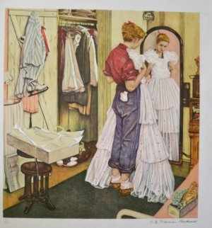 Before the Dance Limited Edition Print - Norman Rockwell