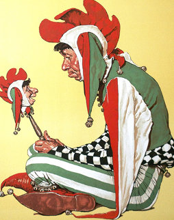 Jester AP 1976 Limited Edition Print by Norman Rockwell