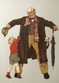 Child's Surprise AP 1976 Limited Edition Print - Norman Rockwell