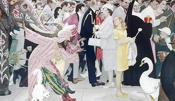 Saturdays People AP 1972 Limited Edition Print - Norman Rockwell
