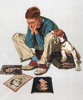Starstruck 1976 Limited Edition Print by Norman Rockwell