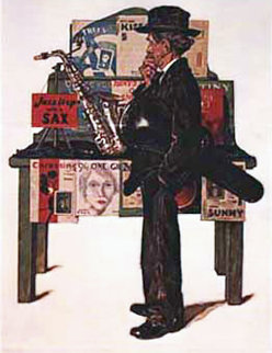 Jazz It Up AP 1976 Limited Edition Print - Norman Rockwell