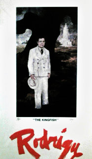 Huey Long: Kingfish (Galerie Antenea, Paris) 1980 Limited Edition Print - Blue Dog George Rodrigue