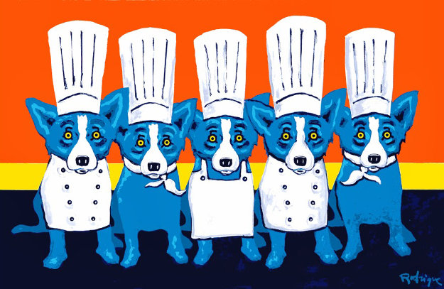 heat in the kitchen - Blue Dog Kitchen