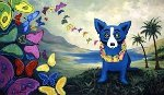Hawaiian Blues 1998 Limited Edition Print - Blue Dog George Rodrigue