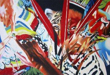 Brazil 2013 Limited Edition Print - James Rosenquist