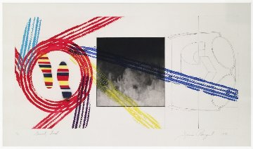 Gravity Feed 1978 Limited Edition Print - James Rosenquist