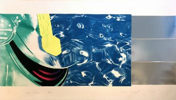 Horse Blinders (West) 1972 Limited Edition Print - James Rosenquist