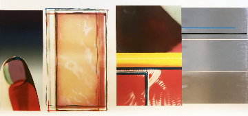 Horse Blinders (South) Limited Edition Print - James Rosenquist