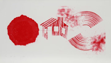 Hot Lake (2nd State) 1978 Limited Edition Print - James Rosenquist