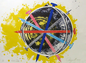Echo Pale 1975 Limited Edition Print - James Rosenquist