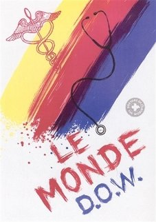 Le Monde (Doctor's of the World) 2001 HS Limited Edition Print - James Rosenquist