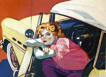 Built Like a Buick 1984 Limited Edition Print - Colleen Ross