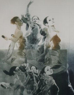 Dance Picture I 1981 Limited Edition Print - G.H Rothe