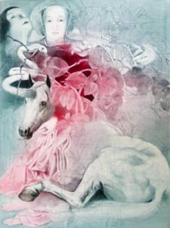 Transformation of the Unicorn 1989 Limited Edition Print - G.H Rothe