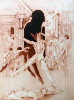 Dance of Tom 1974 Limited Edition Print - G.H Rothe